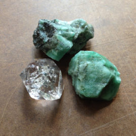 Emerald and Herkimer Diamond Elixir