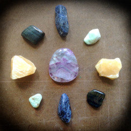 Water Song, Stone and Crystal Matrix Grid